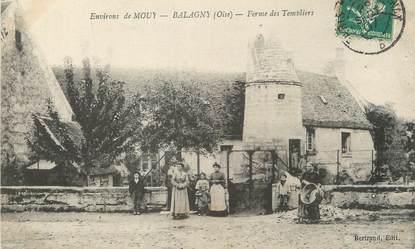 """/ CPA FRANCE 60 """"Balagny, ferme des Templiers"""""""