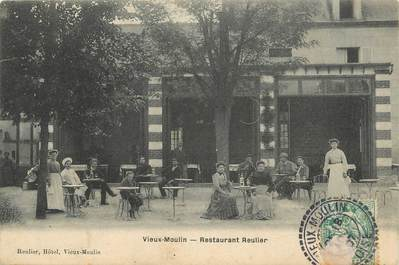 "/ CPA FRANCE 60 ""Vieux Moulin, restaurant Reulier"""