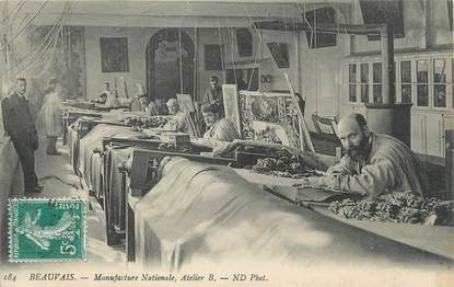 """/ CPA FRANCE 60 """"Beauvais, manufacture Nationale, atelier B"""""""