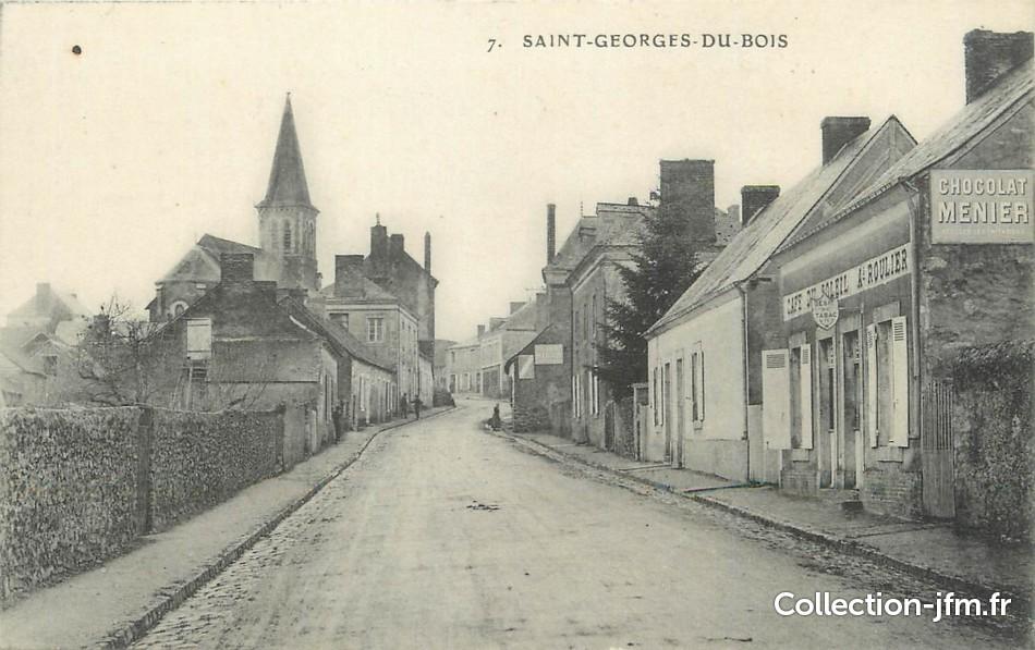 CPA FRANCE 72 Saint Georges du Bois   72 sarthe  autres commune ~ Saint George Du Bois