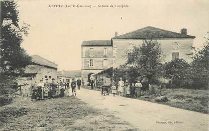 """CPA FRANCE 47 """"Lafitte, avenue de Lacépède"""""""