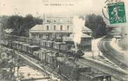 "46 Lot CPA FRANCE 46 ""Figeac, la gare"" / TRAIN"