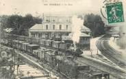 """46 Lot CPA FRANCE 46 """"Figeac, la gare"""" / TRAIN"""