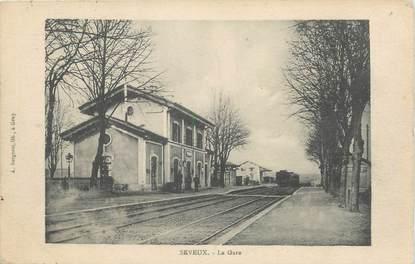 "/ CPA FRANCE 70 ""Seveux, la gare"""