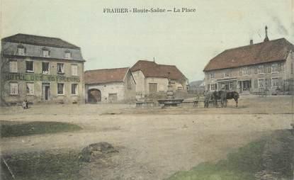 """/ CPA FRANCE 70 """"Frahier, la place"""""""