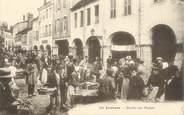 """71 SaÔne Et Loire / CPA FRANCE 71 """"Louhans, marché aux poulets"""""""