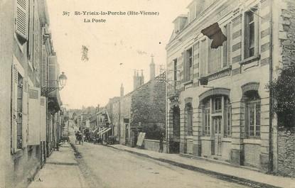 """/ CPA FRANCE 87 """"Saint Yreix la Perche, la poste"""""""