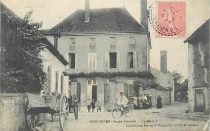 """/ CPA FRANCE 87 """"Dompierre, la mairie"""""""