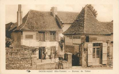Cpa france 87 dournazac bureau de tabac 87 haute for 87 haute vienne france