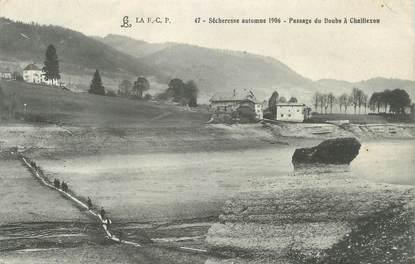 """/ CPA FRANCE 25 """"Passage du Doubs à Chaillexon"""""""