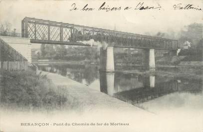 """/ CPA FRANCE 25 """"Besançon, pont du chemin de fer de Morteau"""""""
