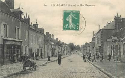 "CPA FRANCE 45 ""Bellegarde, Rue Demersay"""
