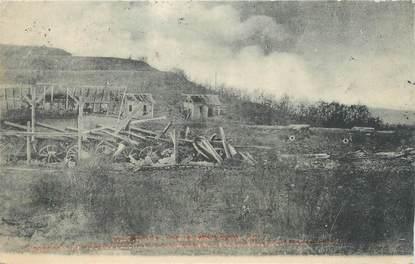 """/ CPA FRANCE 25 """"Besançon, fort de Montfaucon après l'explosion """""""