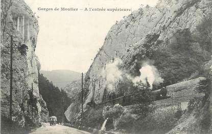 """/ CPA FRANCE 25 """"Gorges de Moutier"""""""