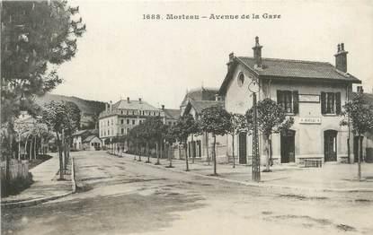 """/ CPA FRANCE 25 """"Morteau, av de la gare"""""""