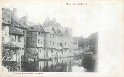 """/ CPA FRANCE 25 """"Montbéliard, vieilles maisons sur la Luzine """""""