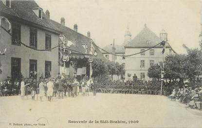 "/ CPA FRANCE 25 ""Montbéliard, souvenir de la Sidi Brahim 1909"""