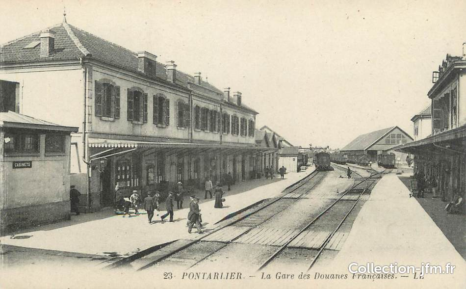 Pontarlier France  city images : CPA FRANCE 25