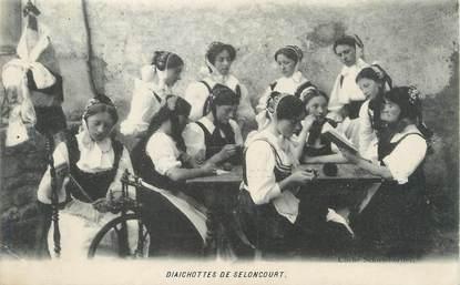 """/ CPA FRANCE 25 """"Diaichottes de Seloncourt"""""""
