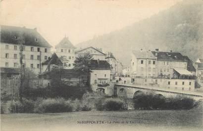 """/ CPA FRANCE 25 """"Saint Hippolyte, le pont et le couvent"""""""