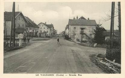 """/ CPA FRANCE 25 """"Le Valdahon, grande rue"""""""