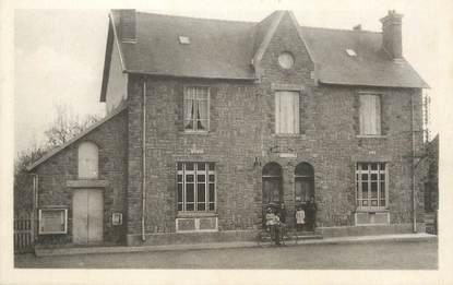 "/ CPA FRANCE 22 ""Langourla, mairie et poste"""