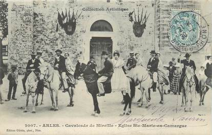 "/ CPA FRANCE 13 ""Arles, Cavalcade de Mireille"""