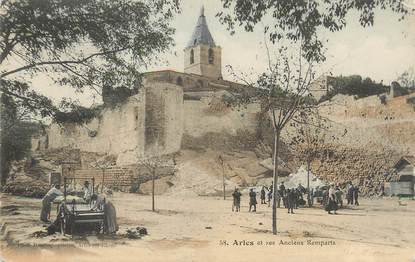 """/ CPA FRANCE 13 """"Arles et ses anciens remparts"""" / MATELASSIER"""