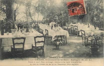 "/ CPA FRANCE 13 ""Aubagne, hôtel restaurant Giraud"""