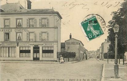 """CPA FRANCE 51 """"Mourmelon le Grand, entrée de la rue du Génie"""""""