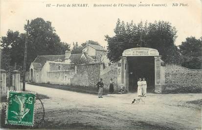 """/ CPA FRANCE 91 """"Forêt de Sénart, restaurant de l'Ermitage"""""""
