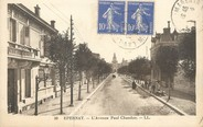 "51 Marne / CPA FRANCE 51 ""Epernay, l'avenue Paul Chaudon"""