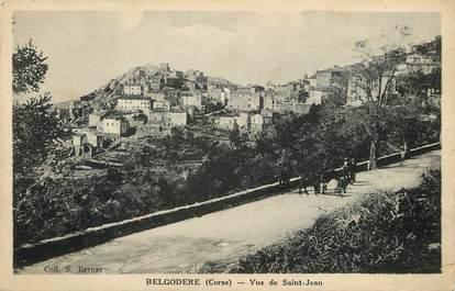 """CPA FRANCE 20 """"Corse,  Belgodere, vue de Saint Jean"""""""