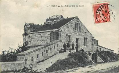 "CPA FRANCE 52 ""Langres, le colombier militaire"""