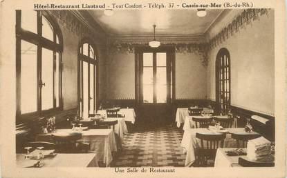 "/ CPA FRANCE 13 "" Cassis sur Mer, hôtel restaurant Liautaud  """