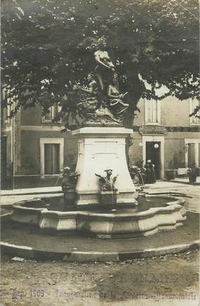 "/ CARTE PHOTO FRANCE 13 ""Chateaurenard"" / FONTAINE"
