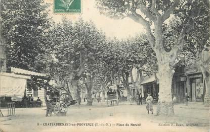 """/ CPA FRANCE 13 """"Chateaurenard en Provence, place du marché"""" / REMOULEUR"""
