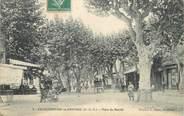 """13 Bouch Du Rhone / CPA FRANCE 13 """"Chateaurenard en Provence, place du marché"""" / REMOULEUR"""