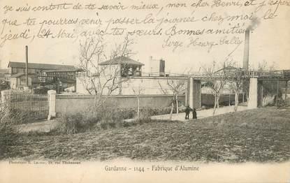 "/ CPA FRANCE 13 ""Gardanne, fabrique d'Alumine"""