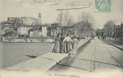 """/ CPA FRANCE 13 """"En arrivant à Gardanne"""""""