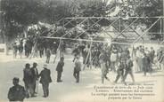 """13 Bouch Du Rhone / CPA FRANCE 13 """"Lambesc, enterrement des victimes"""" / TREMBLEMENT DE TERRE"""