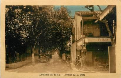 """/ CPA FRANCE 13 """"Luynes, av de la gare"""""""