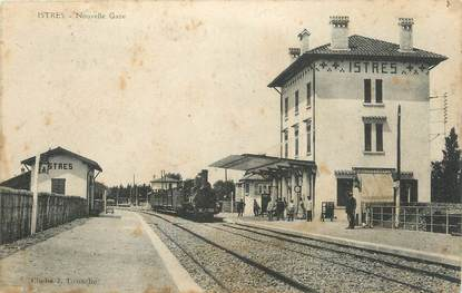 """/ CPA FRANCE 13 """"Istres, nouvelle gare"""""""