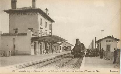 """/ CPA FRANCE 13 """"Istres, la gare """""""