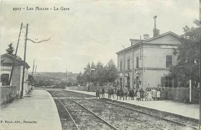 """/ CPA FRANCE 13 """"Les Milles, la gare"""""""