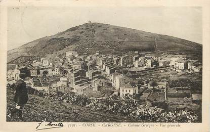 "CPA FRANCE 20 ""Corse, Cargèse"""