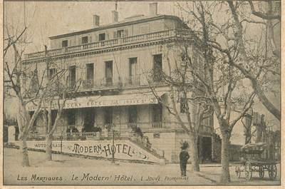 """/ CPA FRANCE 13 """"Les Martigues, le Modern'hôtel"""""""