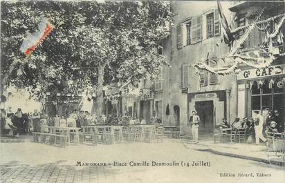 """/ CPA FRANCE 13 """" Marignane, place Camille Desmoulin """""""