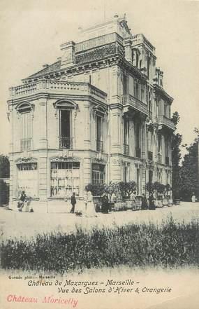 """/ CPA FRANCE 13 """"Château de Mazargues, vue des Salons d'Hiver et Orangerie"""""""