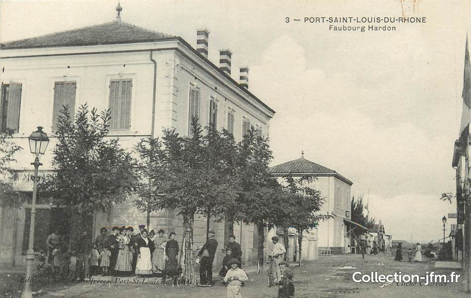 Cpa france 13 port saint louis du rh ne faubourg - Centre medical port saint louis du rhone ...